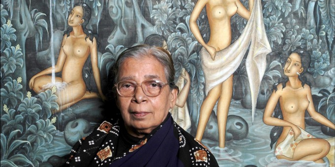 Mahasweta Devi Portrait Session